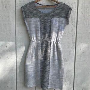 ANTHROPOLOGIE Edme & Esyllte Grey Dress Size XS